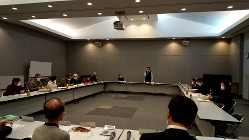 令和2年度、第3回介護保険事業運営協議会が開催されました。