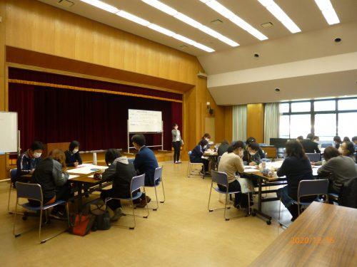 丹波篠山市、丹波市、両市の社協職員で意見交換を行いました。